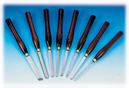 King 8pc Wood Lathe Chisels (KPRO-08)