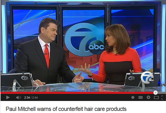 Abc did a report on hair care products sold in stores for Abc salon supply